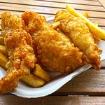 Ling Cod N Chips