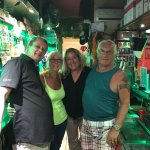 Best pub in Benidorm Monica Angus and all mock Sharon  plus the live entertainment Paul and Scot