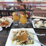Amazing Food! I recommend the Mufongo (center plate!). Everything there is delicious.