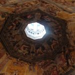 The top of the dome for the Duomo