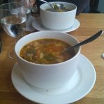The vegetable soups