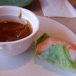 Shrimp and pork spring rolls, you get 4