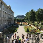 Sightline through the Gardens to the Fortress!