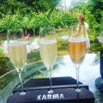 Champagne flight