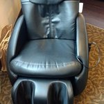 massage chair in a superior double