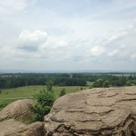 Little Round Top with General Warren