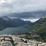 View from top of Bear Hump Trail - a short but steep hike across from the hotel - hard but worth