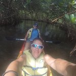 picture right before we paddled out of the mangroves