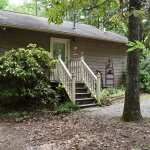 Lady Slipper Cottage front.