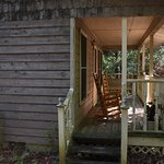 Lady Slipper cottage back porch.