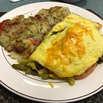 Toot Toot Omelette & Breakfast Potatoes