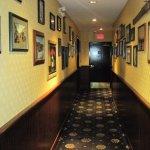 hallway to washroom
