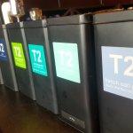 We serve a huge variety of T2 teas.
