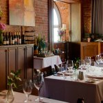 Enjoy dinner in our dining room or classic bar.