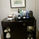 The mini bar was fabulous and we were thrilled that we had a Nespresso machine!