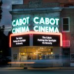 The Cabot's front entrance is an art deco masterpiece.