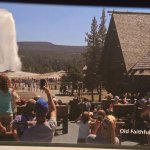 Photos on slide display in Visitor Center