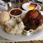Huge pork shank - new menu item at Schmidt's