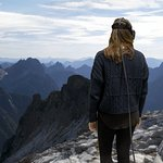 Postcards - Go to Vesper Peak Washington - look at the view from above