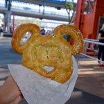 delicious mickey pretzel