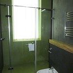 Roomy shower!
