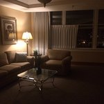 Sitting area of Superior Queen Suite on 4th Floor