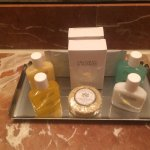 Toiletries in a Superior Queen Suite on 4th Floor