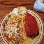 Sampler Mexican and Grilled Italian Spaghetti