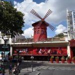 View of The Moulin Rouge from The Big Bus