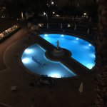 View of the pool from hotel 2