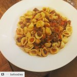 Orecchiette Slow cooked Black Angus beef ribs