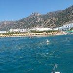 Foto de Mitsis Norida Beach Hotel