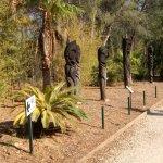 Un cadre particulier où il fait bn déambuler dans les allées de ce parc zoologique familial .
