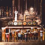 20 beer on tap and 300 bottled beer choices