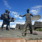 Monument to the Conquerors of Virgin Land