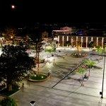 from the balcony, main square in Argostoli