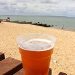 Beers on the beach!