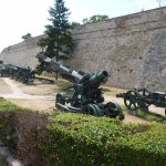 Fortress wall with army equipments (Museum)