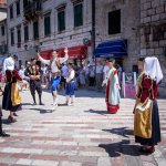 Traditional dance at the Piazza of the arms