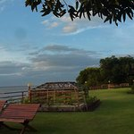 The lawns overlooking the Ayarwaddy River - great for sunsets