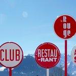 Le Rouge: Restaurant & Après-Ski