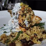 Lemon & Thyme Roast Chicken with Couscous
