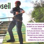 NEW ACYIVITY - Forward Facing Abseil - not for the faint  hearted !!