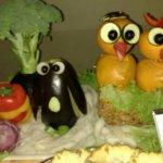 Fun with food art!