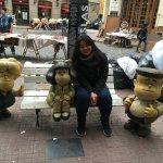 Photo of Mafalda Statue