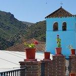 Foto de Júzcar, el pueblo de los pitufos