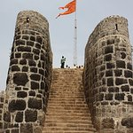 Pratapgarh fort main gate view image