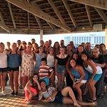 Our Black Diamonds Softball team dinner at Fager's Island
