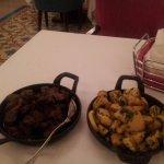 Chicken liver and potatoe