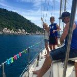 Enjoying the sail:)